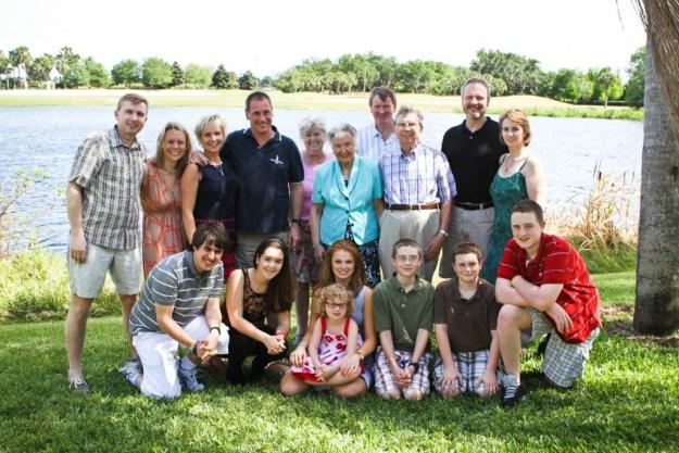 Kilbride Family - April 2014 - Harry's 80th