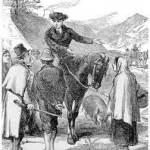 John Wesley on horseback