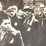 Jewish citizens wearing the yellow star