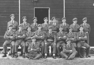 HK (back row 4th from left) - boot camp squad