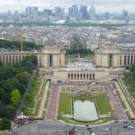 Trocadero from Eiffel Tower summit