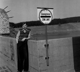 HK at British Zone Limit near Hanover in 1953