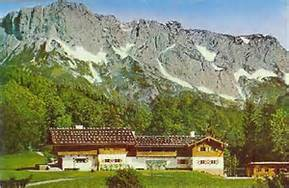 The Goering home at Berchtesgaden