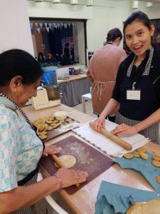 ladies baking