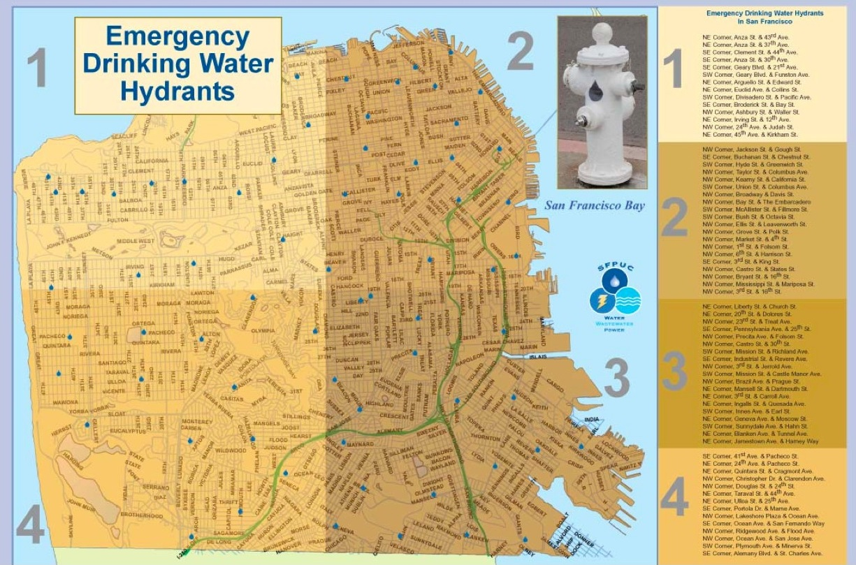 SFPUC says Emergency Drinking Hydrants Discontinued Scott Kildall