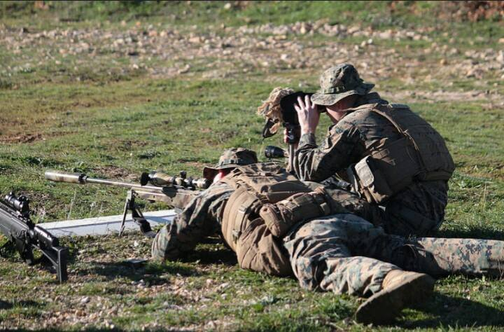 Ejercicios con la Bripac Sniper 1