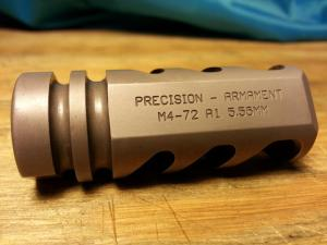 Precision armament freno de boca ar15