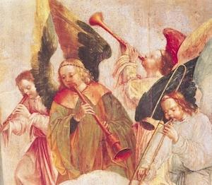 """Assumption of the Virgin,"" detail, Frei Carlos (1517-40)"