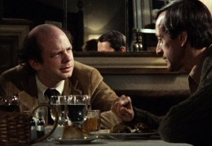 """Wallace Shawn, Andre Gregory, """"My Dinner with Andre."""" (© 1981, New Yorker Films)"""