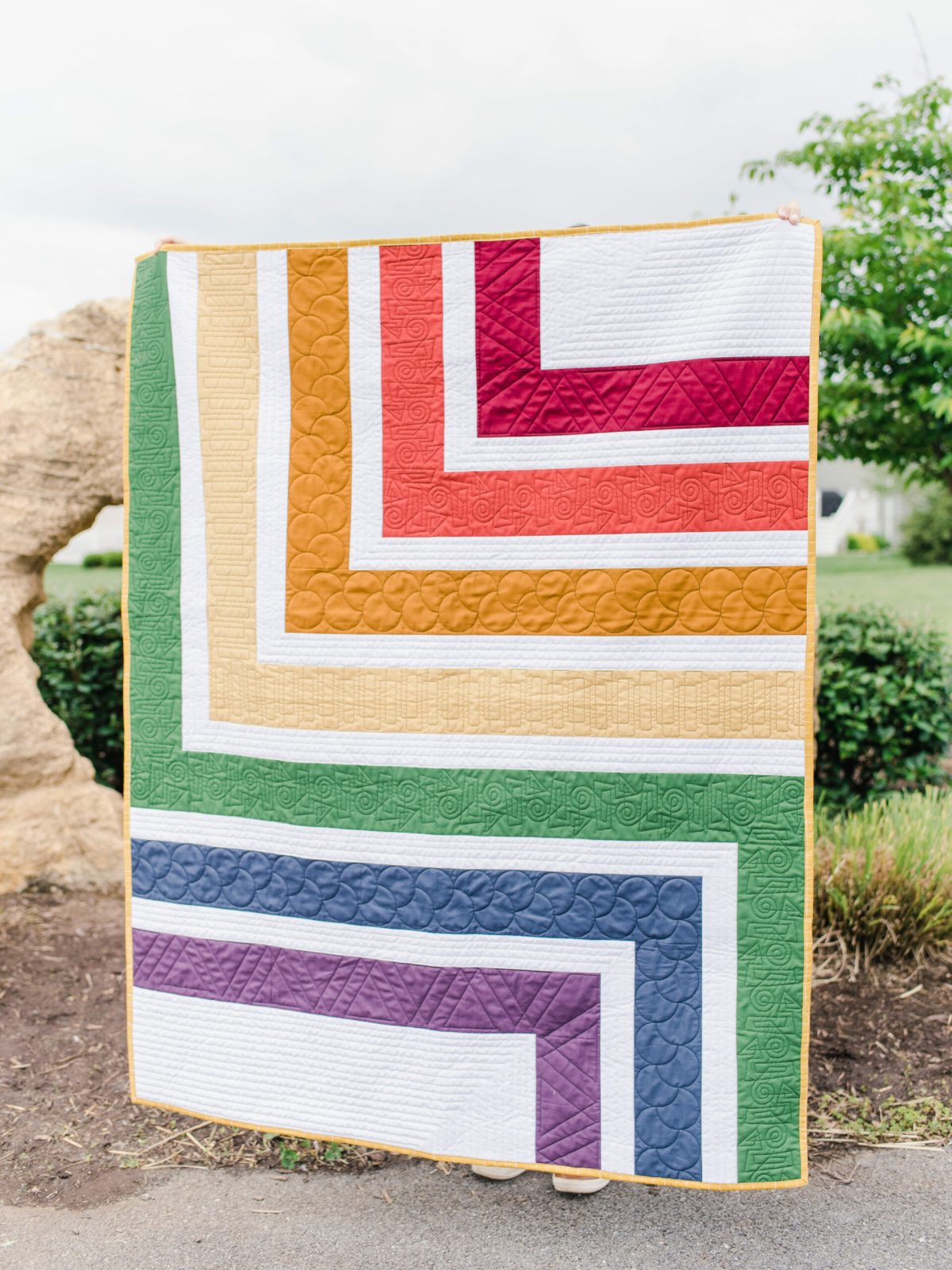 Cover of Upper Cut quilt pattern