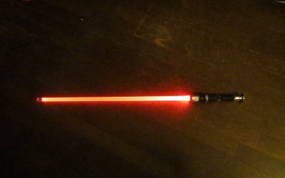 Joining the Sith – Lightsaber 2