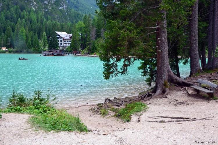 Un angolo di grande bellezza naturale del Lago di Braies