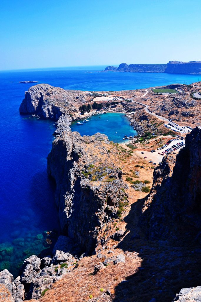 8 spiagge imperdibili sull'isola di Rodi: la baia di Agios Pavlos