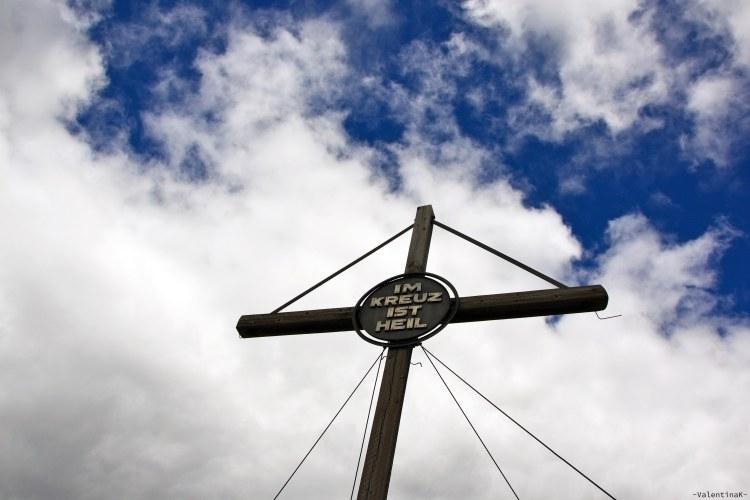 la croce del picco di vallandro