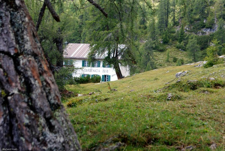 ABC dell'Alta Badia: il rifugio Gardenaccia