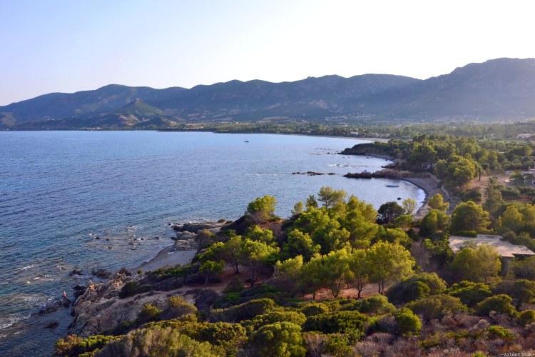 sardegna del sud est spiagge: il litorale intorno a tertenìa