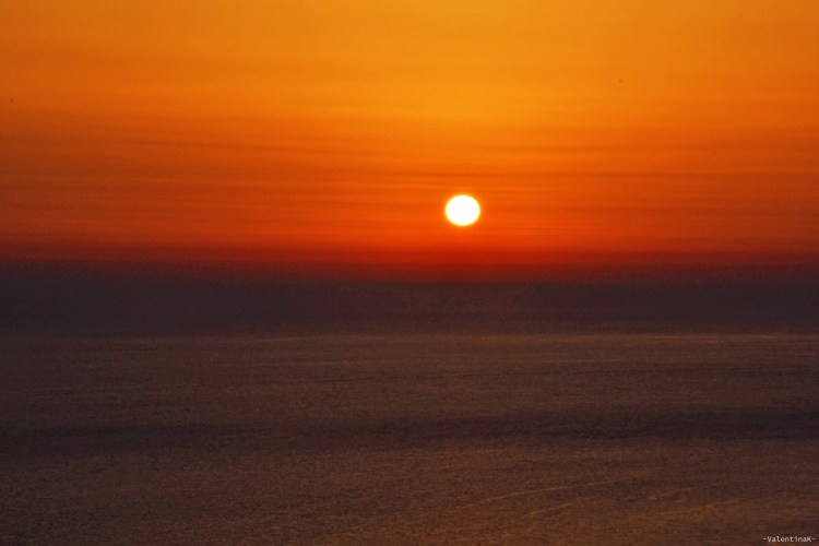 tramonto a Kampi