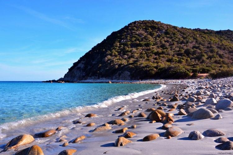 sardegna del sud est spiagge: la selvaggia cala pira