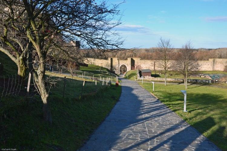 castello di Devín bratislava: l'ingresso al parco