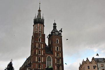 cracovia e dintorni, appunti sparsi dal mio diario di viaggio: la cattedrale sotto la neve