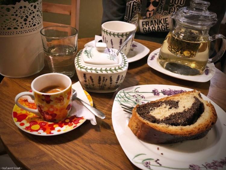 cafè e sale da tè a cracovia: merenda e tè