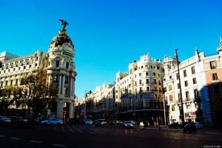 luci e ombre di madrid: metropolitan e palazzi