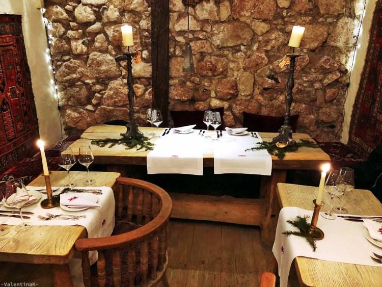 dove mangiare a cracovia: sala interna e splendida del ristorante pod aniolami