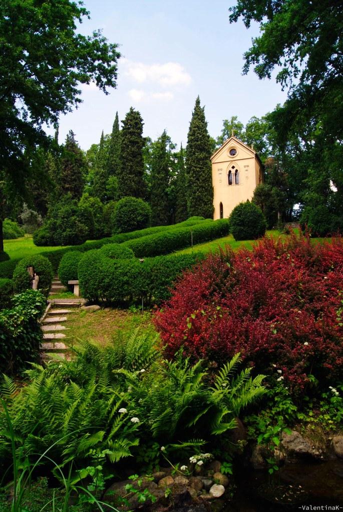 Parco Giardino Sigurtà: l'eremo del giardino tra le frasche