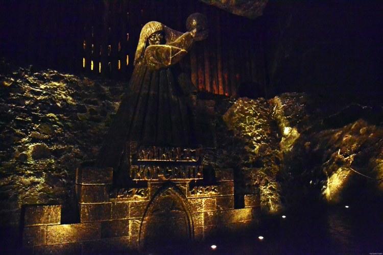 la statua in sale di copernico