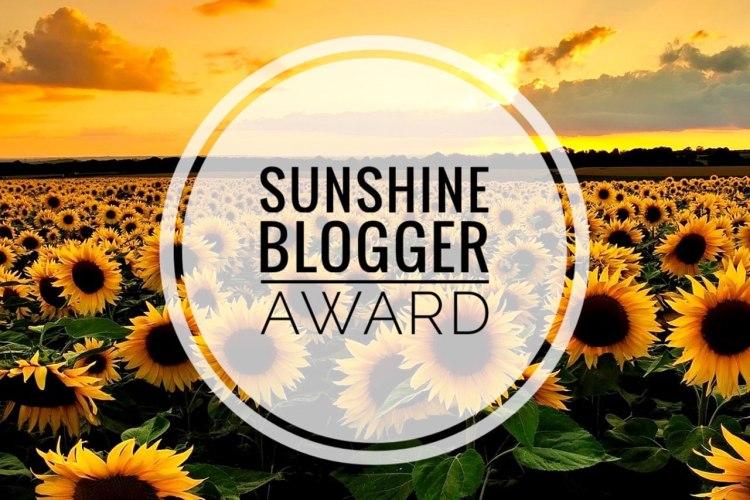 sunshine blogger award 2019: il logo dell'iniziativa
