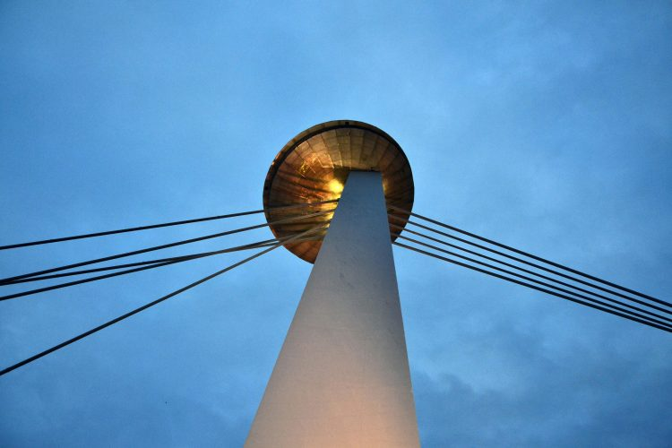 cosa fare a bratislava: la torre ufo