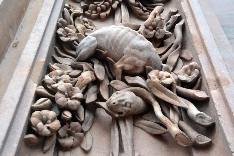 curiosità sul Duomo di Milano: la statua del drago tarantasio