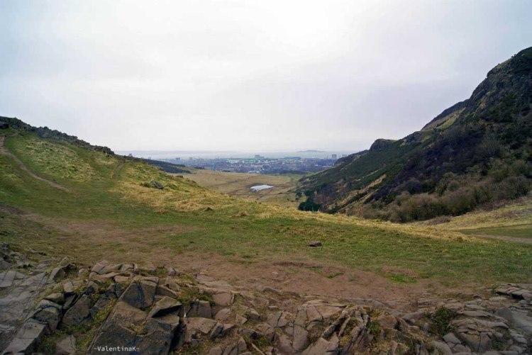 edimburgo città: angoli di Highlands ad Arthur's Seat