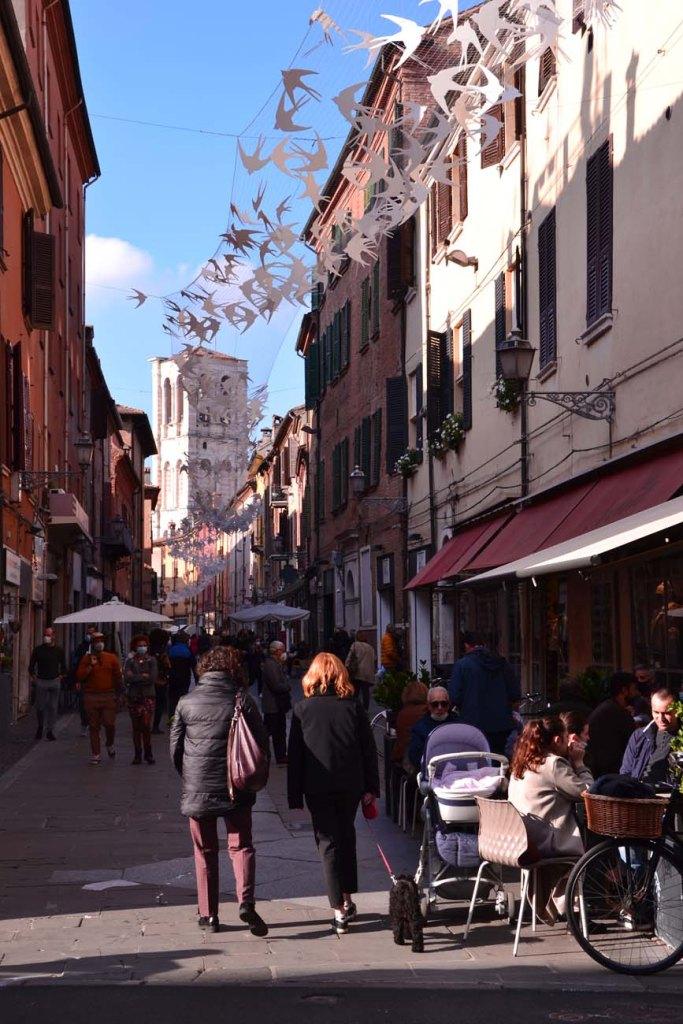 cosa vedere a Ferrara: via mazzini