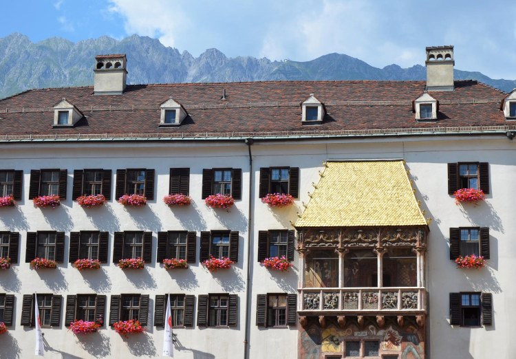 Cosa fare a Innsbruck in estate: il tettuccio d'oro