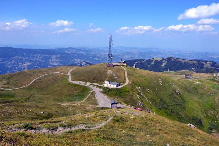 escursione al Monte Cimone: verso pian cavallaro