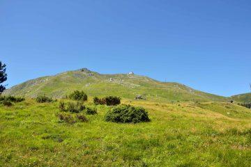 escursione al Monte Cimone: veduta sulla cima