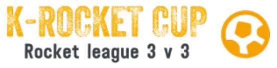 Ouverture des Tournois Rocket League 3 v 3