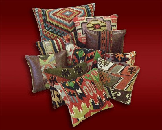 Kilim Cushions & Draught Excluders