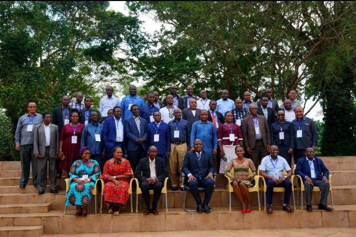 Group picture at Joint Meeting of Agriculture Training Institutes of CISTI project