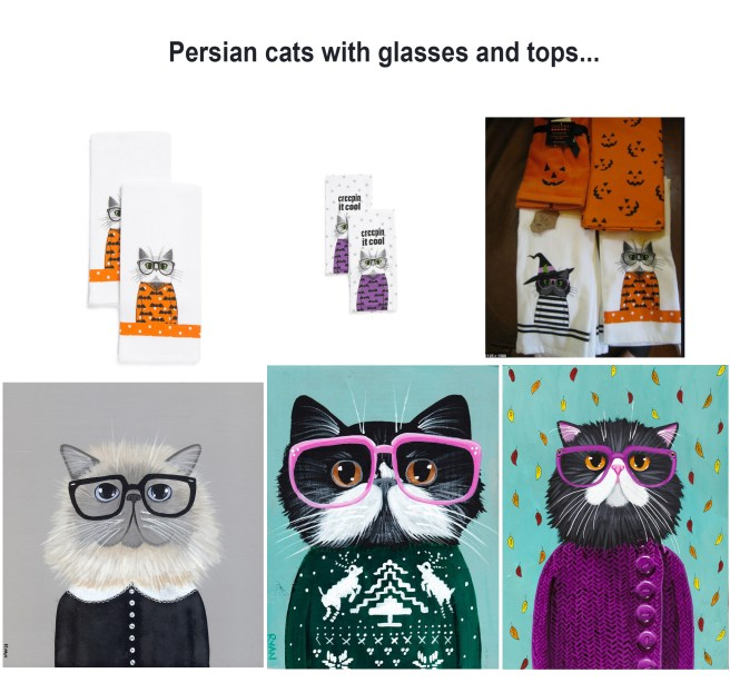 persians with glasses