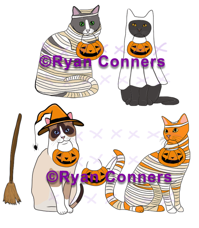 Mummies and cats copy 1 smaller for web