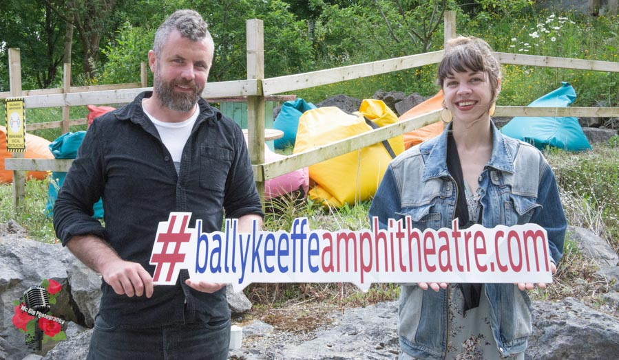 Mick Flannery & Susan O'Neill at Ballykeeffe Amphitheatre