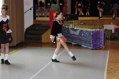 Orla competing @ Munich Feis