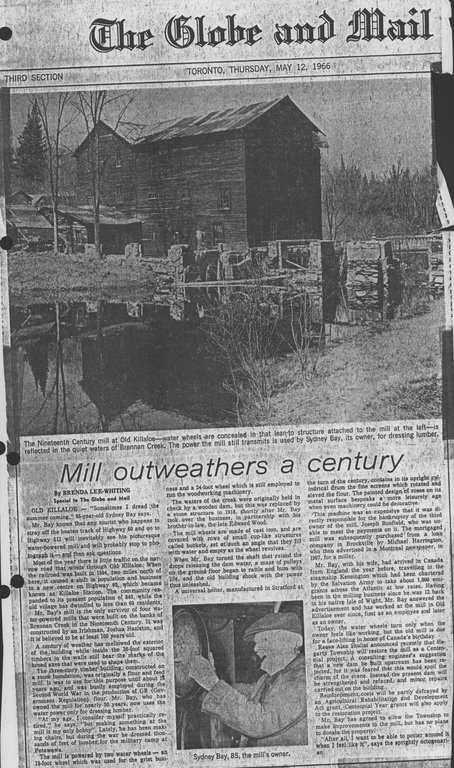 mill outweathers a century