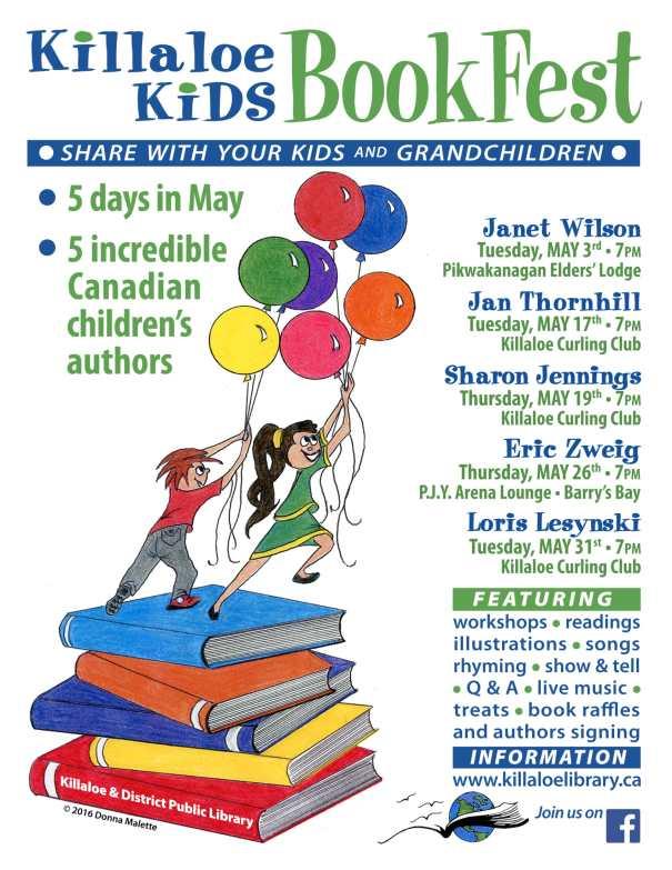 2016 BookFest Poster