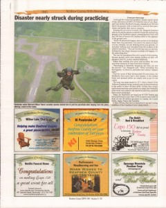 A Journey Through Time - Past, Present and Future. Published by The Eganville Leader, celebrating the 150th anniversary of Renfrew County. Page 9