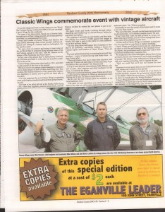 A Journey Through Time - Past, Present and Future. Published by The Eganville Leader, celebrating the 150th anniversary of Renfrew County. Page 44