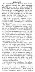HISTORY OF KILLALOE 5bm