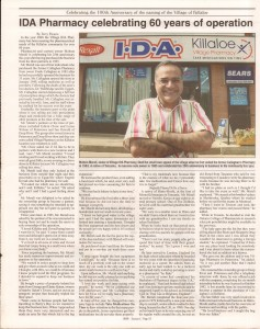 Killaloe Today, published in August of 2008 to commemorate the Town's 100th Birthday. Page 24